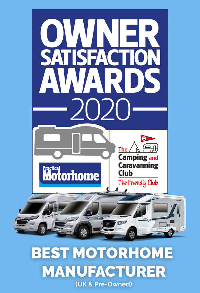 2020 Owner Satisfaction Award Winner Auto-Sleepers