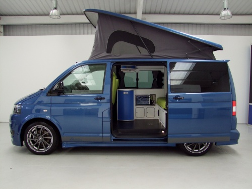 vw t5 camper autohaus ashton with full abt body kit. Black Bedroom Furniture Sets. Home Design Ideas