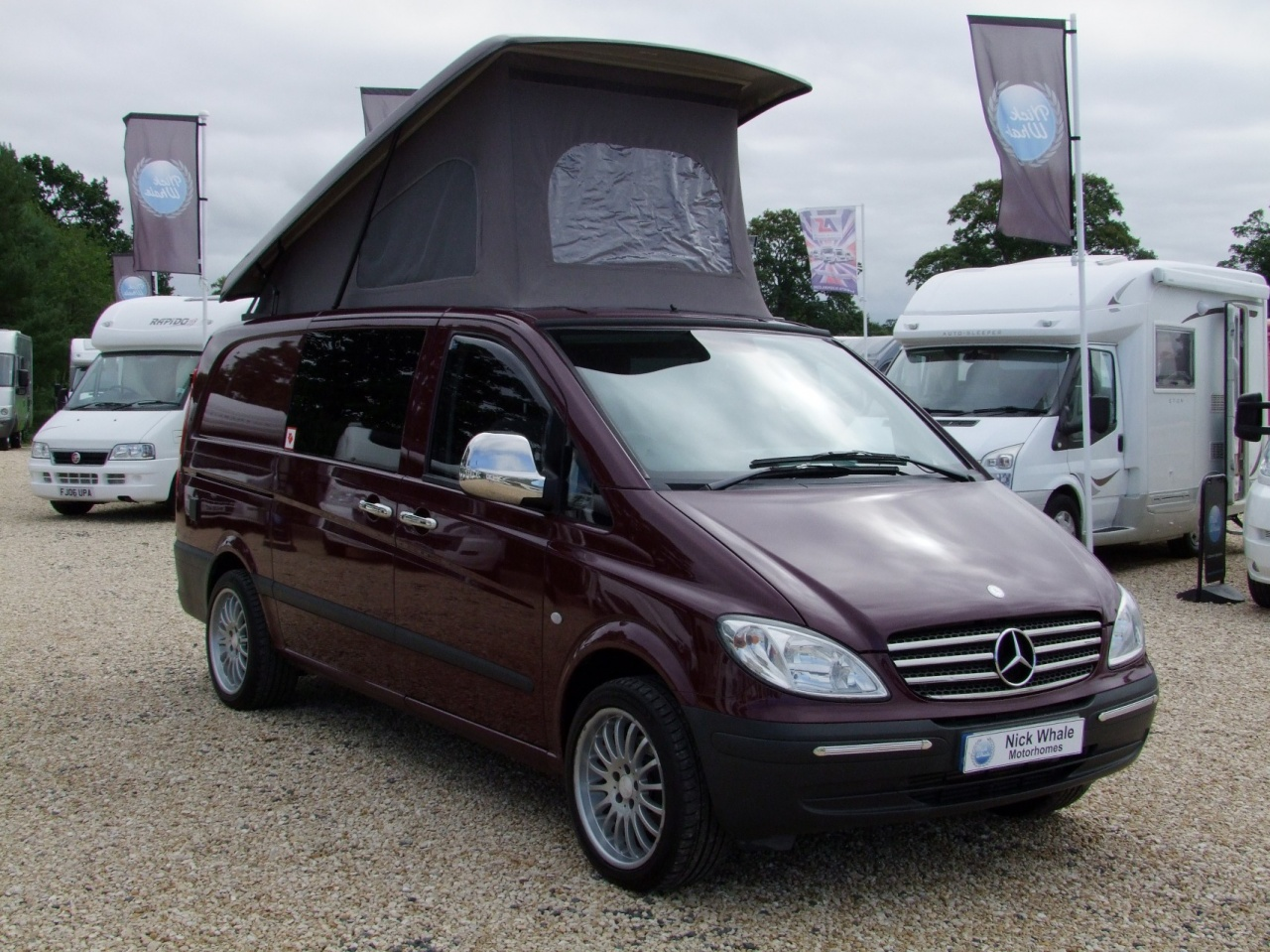 Mercedes Van Camper >> Camper Conversion Based Upon Mercedes Vito 111 CDi | Nick Whale Sports Cars