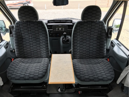 Swivel Car Seat >> Horizon Unlimited Cavarno | Nick Whale Motorhomes