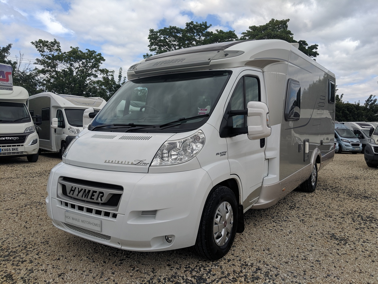 Hymer T674 Exclusive Line